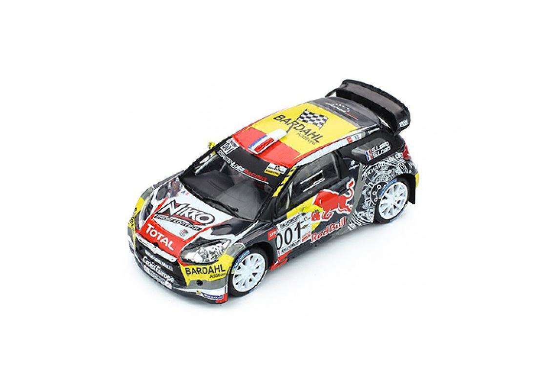 Citroen ds3 wrc-Rally Circuit paul ricard 2016-loeb 1:43 Ixo RAM 654