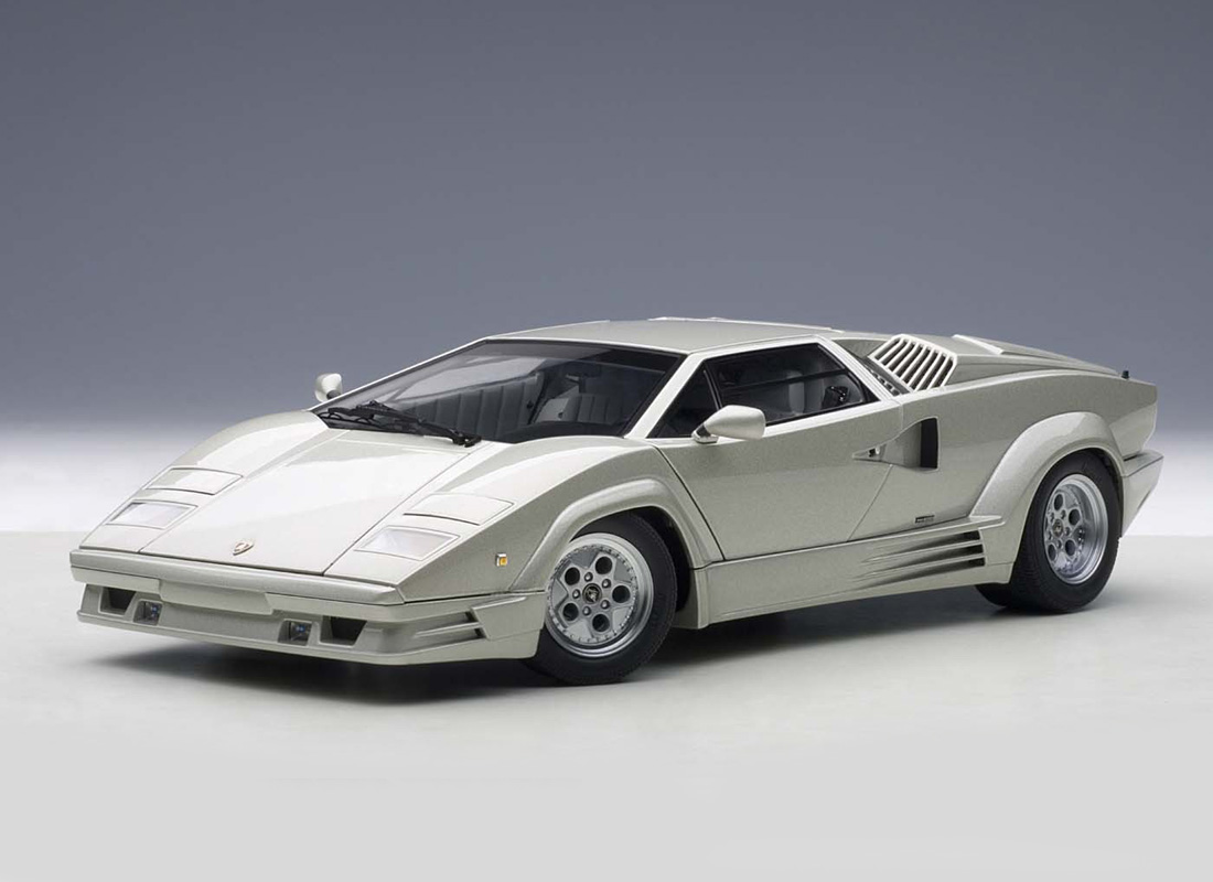 Autoart 1 18 Lamborghini Countach Diecast Model Car 74536